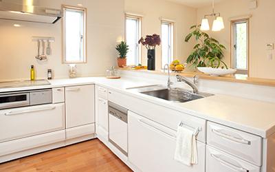 キッチンなど水廻りの設備を整えたい画像